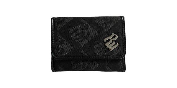 Dámska čierna vzorovaná peňaženka RocaWear