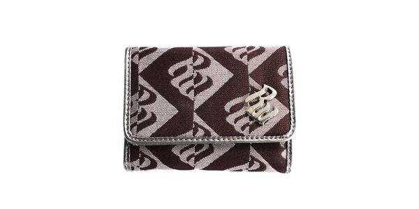 Dámska hnedá vzorovaná peňaženka RocaWear