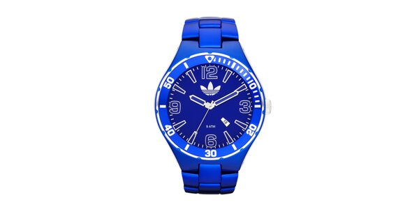 Modré športové hodinky Adidas