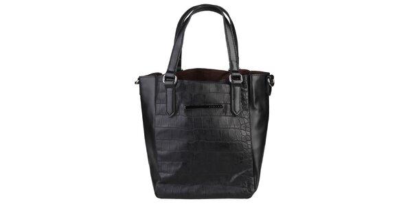 Dámska čierna kabelka Sisley