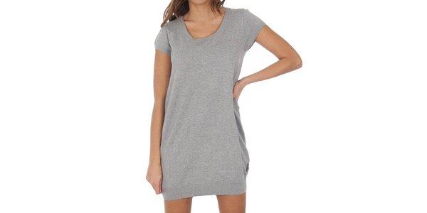 Dámske šedé šaty Tommy Hilfiger