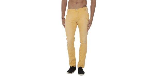 Pánske žlté nohavice Tommy Hilfiger