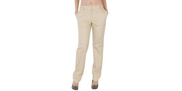Dámske svetlo béžové nohavice Tommy Hilfiger