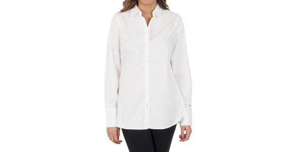 Dámska biela košeľa Tommy Hilfiger