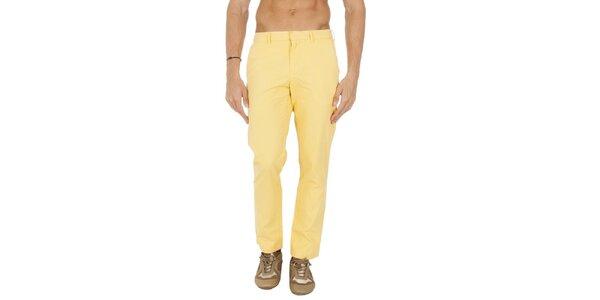 Pánske žlté chino nohavice Tommy Hilfiger