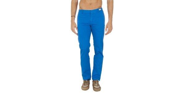 Pánske blankytno modré chino nohavice Tommy Hilfiger