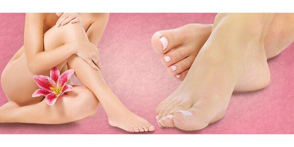 Gélové nechty na nohách