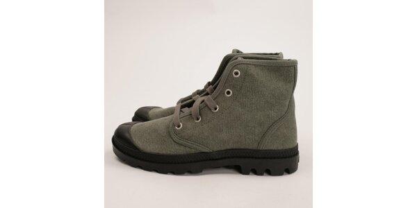 Dámske šedé topánky Palladium