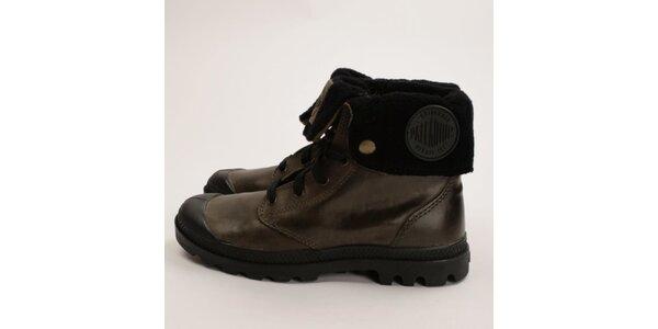 Dámske kombinované členkové topánky Palladium