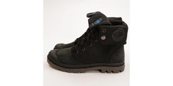 Dámske tmavé členkové topánky Palladium