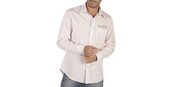 Pánska športová košeľa s potlačou Replay