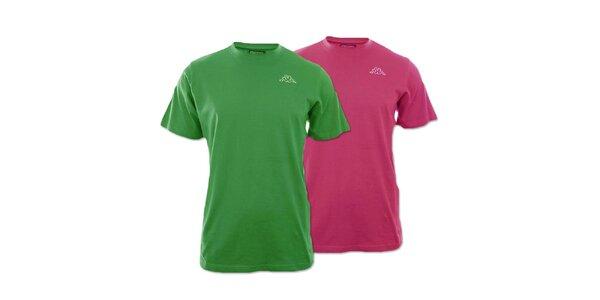 Set dvoch pánskych tričiek Kappa - fuchsiové, zelené