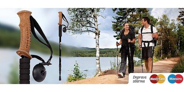 Dve trekingové palice s odpružením - Nordic Walking