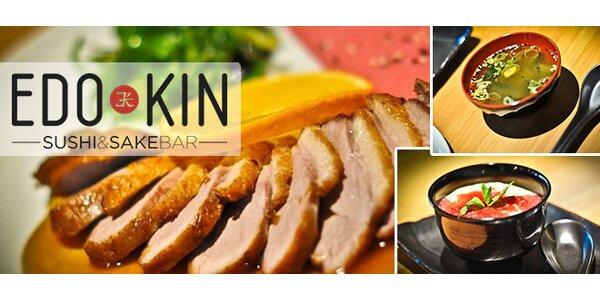 Menu pre dvoch v sushi & sake bare EDO-KIN