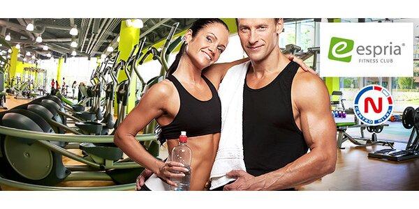 Mesačná permanentka do Espria fitness