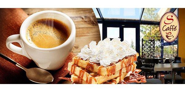 Káva a sladučké vafle