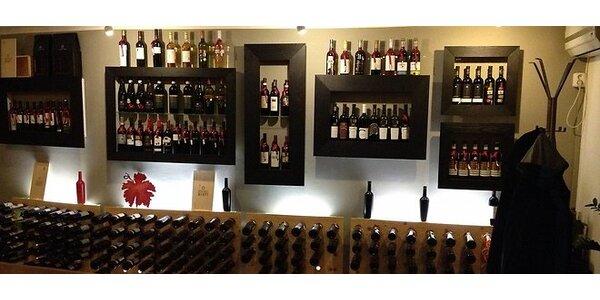 Romantická ochutnávka vín pre dvoch