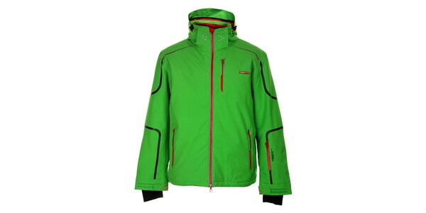 Pánska sýto zelená lyžiarska bunda Envy