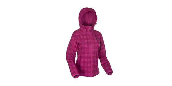 Dámska ružová károvaná bunda Envy