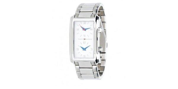 Pánske oceľové hodinky Tommy Hilfiger s dvoma ceferníkmi