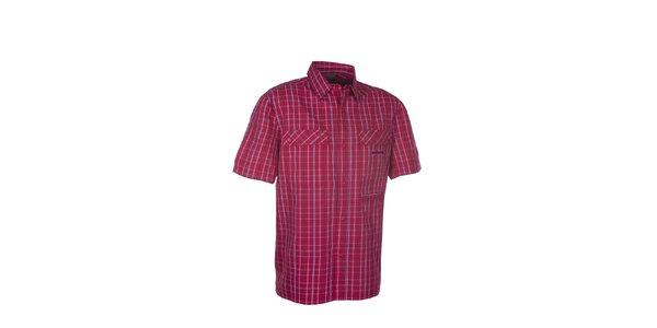 Pánska červená kockovaná košeľa Envy