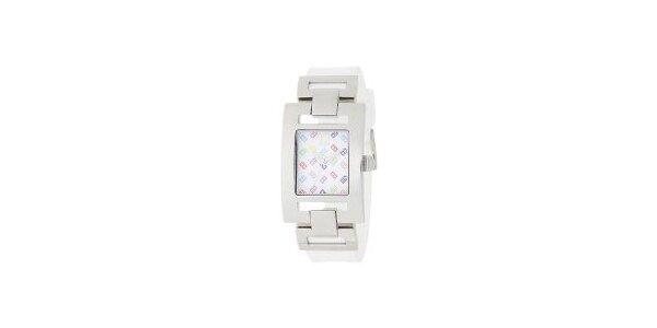Dámske oceľové hodinky Tommy Hilfiger s farebným ciferníkom