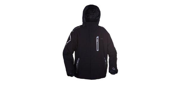 Pánska čierna bunda na lyže Envy
