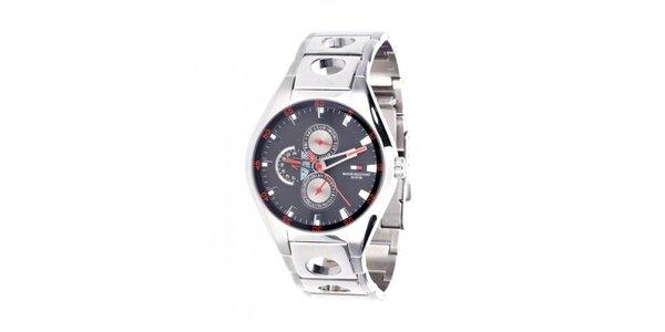 Pánske oceľové hodinky Tommy Hilfiger