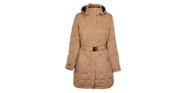Dámsky orieškovo hnedý páperový kabát Northland