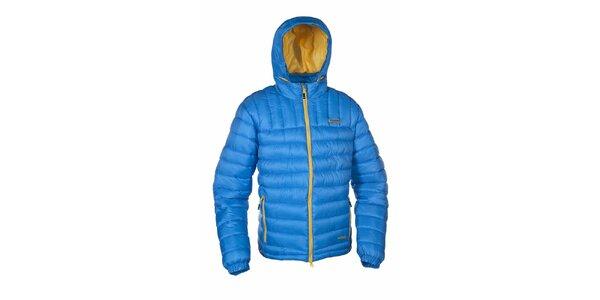 Pánska modrá zateplená bunda Envy