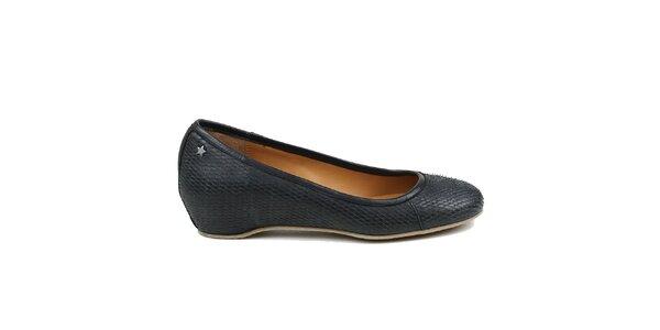 Dámske čierne baleríny Cubanas Shoes