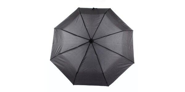 Pánsky šedý dáždnik s prúžkom Ferré Milano