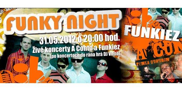 Koncert funkových skupín