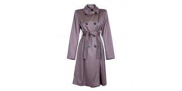 Dámsky béžový zimný kabát Pietro Filipi