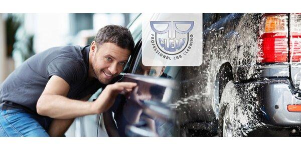 Interiérové a exteriérové čistenie auta