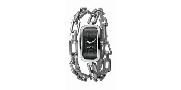 Dámske hodinky s retiazkovým náramkom Esprit