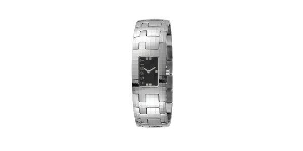 Dámske náramkové hodinky z nerezovej ocele - strieborné Esprit