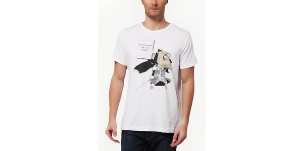 Pánske tričko s potlačou foťáku Dogo