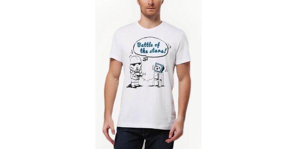 Pánske tričko s potlačou stormtroopera Dogo