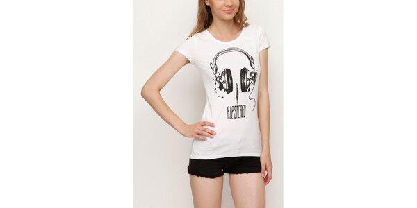 Dámske tričko so slúchatkami Dogo
