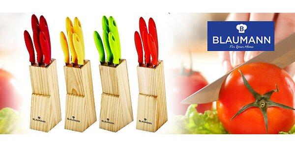6 dielny set farebných nožov Blaumann