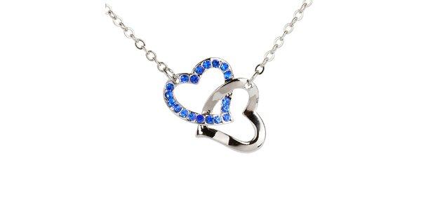 Dámsky náhrdelník so srdiečkami Fifi Ange