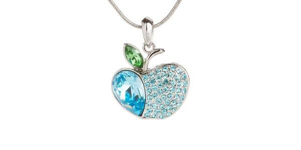 Dámsky náhrdelník s modrým jabĺčkom Fifi Ange