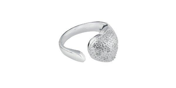 Dámsky srdcový prsteň so zirkonmi Fifi Ange