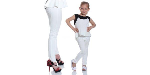 Dievčenský set legín a topu Berry Couture