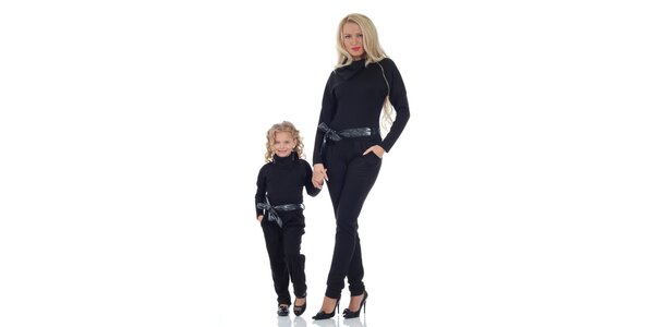 Dámsky čierny overal Berry Couture