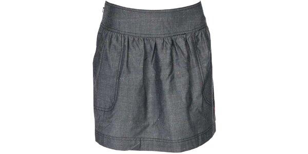 Dámska tmavo šedá sukňa Bench