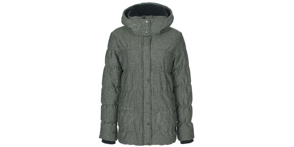 Dámska šedá zimná bunda Bench