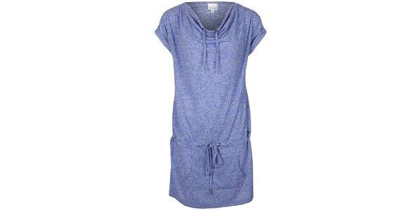 Dámske modrofialovo melírované šaty Bench