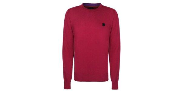 Pánsky červený sveter Bench